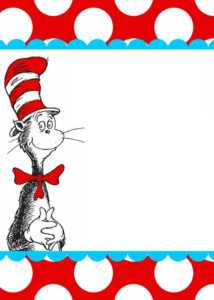 Pages Coloring ~ Dr Seuss Printables Remarkable Photo intended for Dr Seuss Birthday Card Template