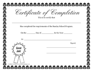 Pdf-Free-Certificate-Templates throughout Service Dog Certificate Template