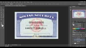 Pdf Social Security Card Template within Social Security Card Template Psd