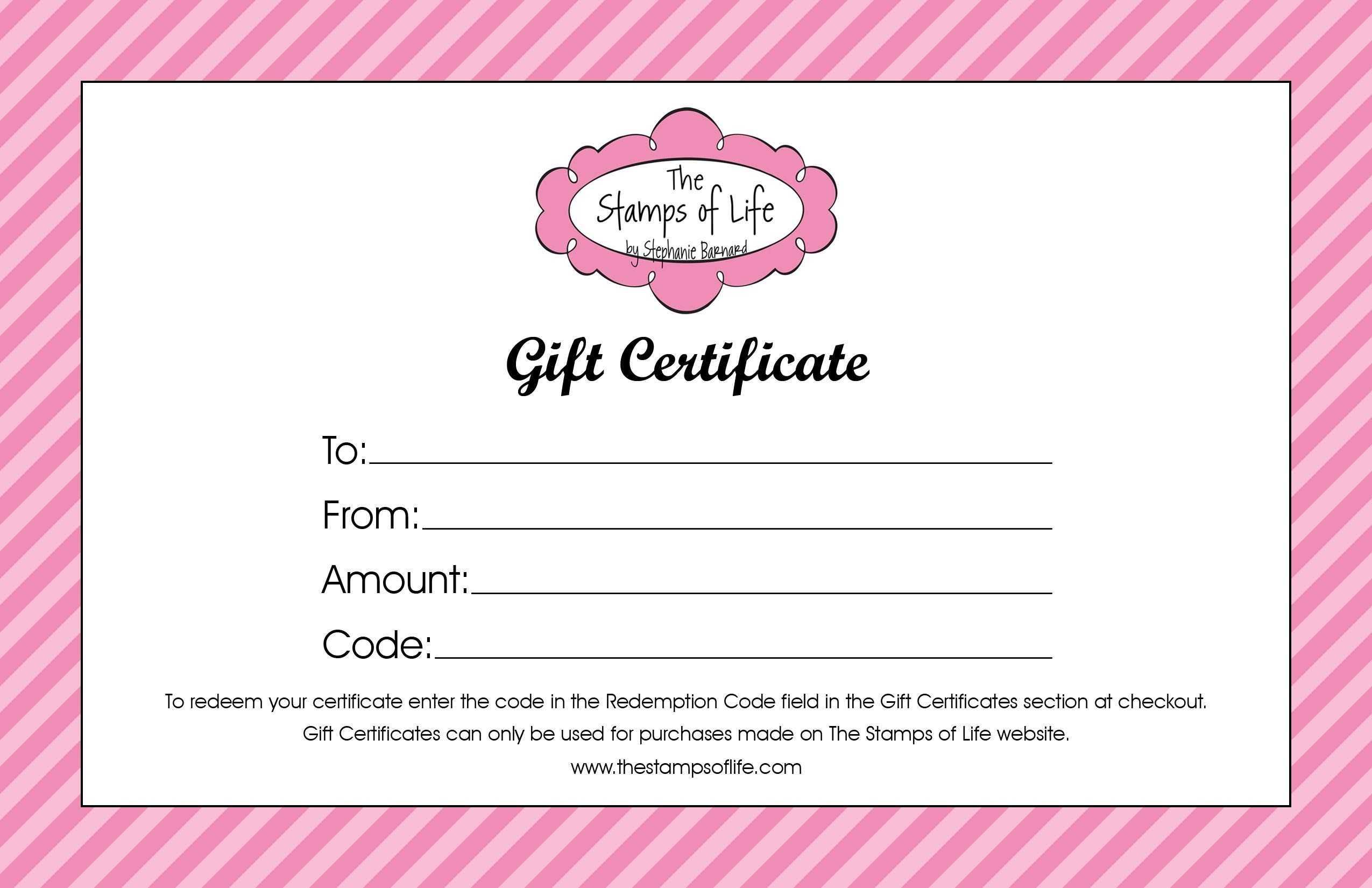Pedicure Gift Certificate Template - Carlynstudio Pertaining To Nail Gift Certificate Template Free