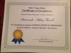 Perfect Attendance Certificate – Certificate Templates pertaining to Perfect Attendance Certificate Free Template