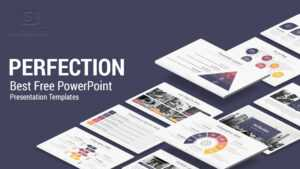 Perfection Free Powerpoint Presentation Template – Free Download for Business Card Template Powerpoint Free