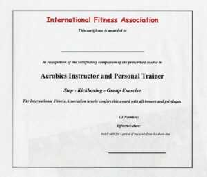 Personal Trainer Certificate Template – Certificate Templates throughout Template For Training Certificate