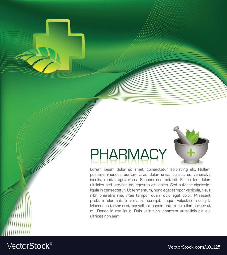 Pharmacy Brochure Inside Pharmacy Brochure Template Free