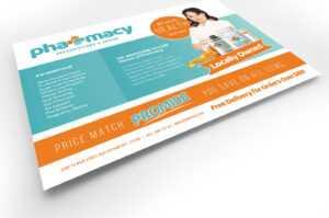 Pharmacy Flyer Template in Pharmacy Brochure Template Free