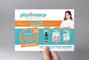 Pharmacy Flyer Template – Psd, Ai & Vector – Brandpacks regarding Pharmacy Brochure Template Free