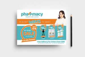 Pharmacy Flyer Template regarding Pharmacy Brochure Template Free