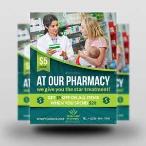 Pharmacy Template. Hospital Website Templates Clinic Website in Pharmacy Brochure Template Free