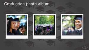 Photo Album, Flowering Hearts Design (Widescreen) in Powerpoint Photo Album Template