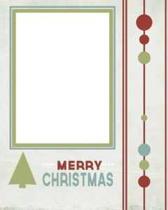 Photo Card Templates – Oflu.bntl with regard to Printable Holiday Card Templates