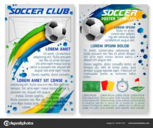Photo: Soccer Team Template | Vector Soccer Team Club throughout Soccer Referee Game Card Template