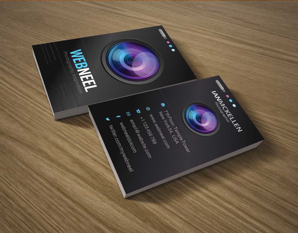 Photography Business Card Design Template 35 - Freedownload Intended For Photography Business Card Templates Free Download
