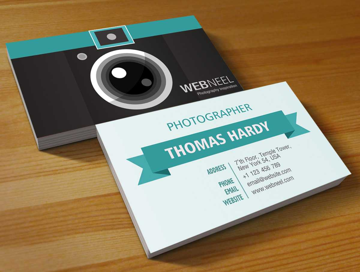 Photography Business Card Design Template 39 - Freedownload Within Photography Business Card Templates Free Download