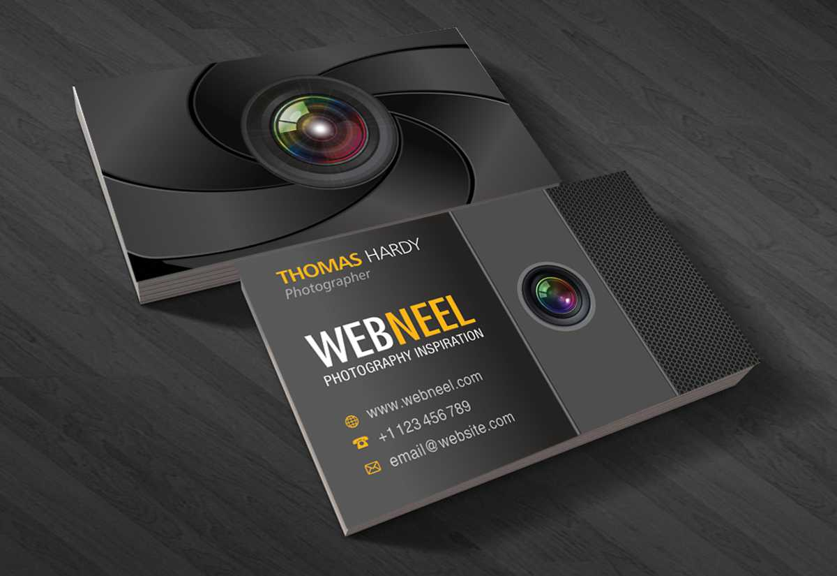 Photography Business Card Design Template 40 - Freedownload For Free Business Card Templates For Photographers