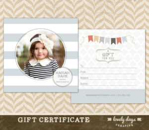 Photography Gift Certificate Template Free Download – Barati inside Photoshoot Gift Certificate Template