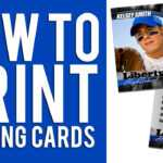 Photoshop Trading Card Template ] – Trading Card Template 21 With Free Sports Card Template