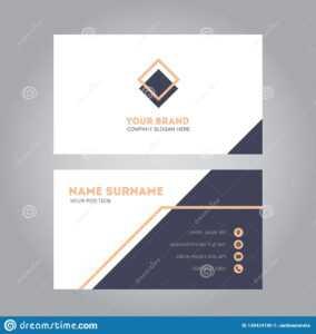 Pink Modern Business Card Design Template Stock Vector for Modern Business Card Design Templates