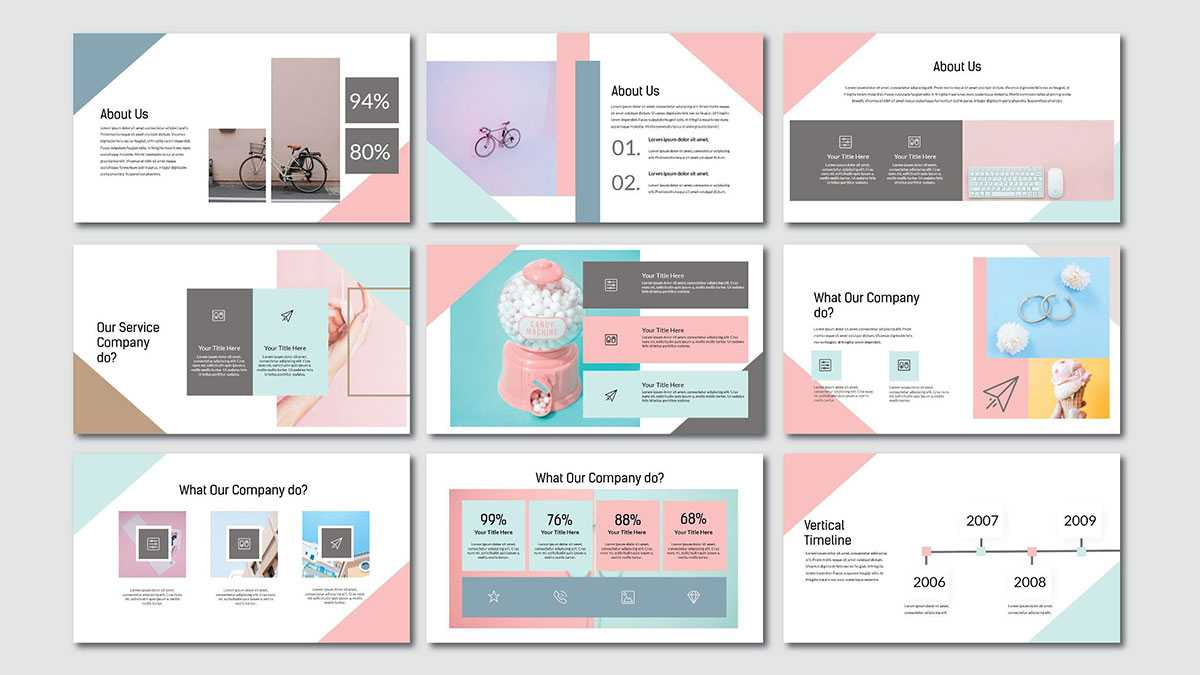 Pink Pastel Free Powerpoint Template Throughout Pretty Powerpoint Templates