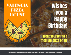 Pizza Voucher Template inside Pizza Gift Certificate Template