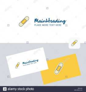 Plaster Vector Logotype With Business Card Template. Elegant inside Plastering Business Cards Templates