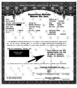 Plated Ktm | Licensing Express for Certificate Of Origin For A Vehicle Template