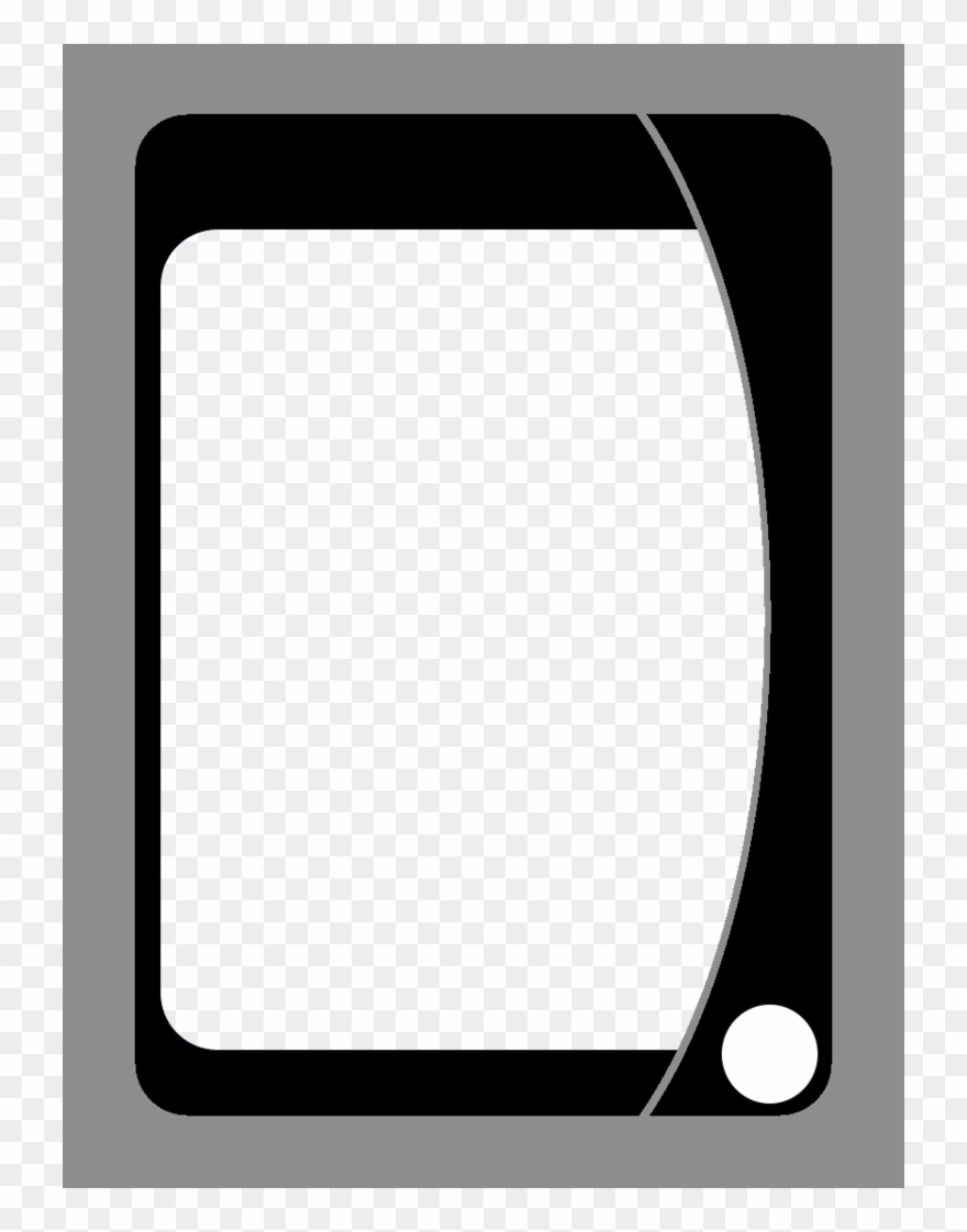 Playing Card Template Png - Uno Card Blanks Clipart With Regard To Blank Magic Card Template