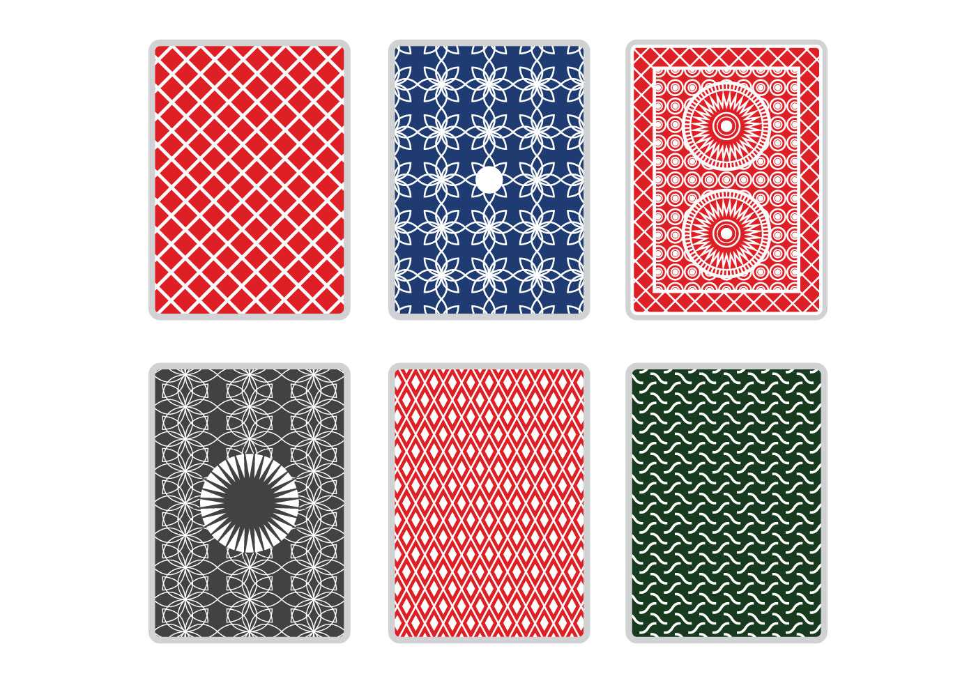 Playing Cards Background Free Vector Art - (883 Free Downloads) Inside Playing Card Design Template