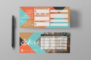 Pledge Cards & Commitment Cards | Church Campaign Design with Church Pledge Card Template