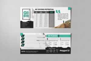 Pledge Cards & Commitment Cards | Church Campaign Design with regard to Church Pledge Card Template