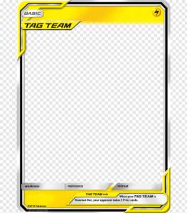 Pokemon Sm Templates, Lightning Gx Tt Basic, Basic Tag Team intended for Pokemon Trainer Card Template