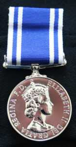 Police Long Service And Good Conduct Medal – Wikipedia in Army Good Conduct Medal Certificate Template