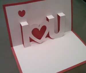 Pop Up Valentine Card Template ] – Youtube Http Www Youtube for Twisting Hearts Pop Up Card Template