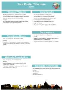 Powerpoint A0 Poster Template Research Poster Template Free inside Powerpoint Academic Poster Template