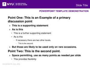 Powerpoint Template Demonstration – Ppt Download within Nyu Powerpoint Template