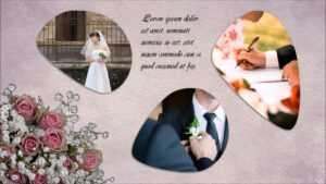 Powerpoint Wedding Album Template throughout Powerpoint Photo Album Template