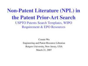 Ppt – Connie Wu Engineering And Patent Resource Librarian with regard to Rutgers Powerpoint Template