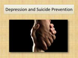 Ppt – Depression And Suicide Prevention Powerpoint for Depression Powerpoint Template