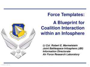 Ppt – Force Templates: A Blueprint For Coalition Interaction throughout Air Force Powerpoint Template