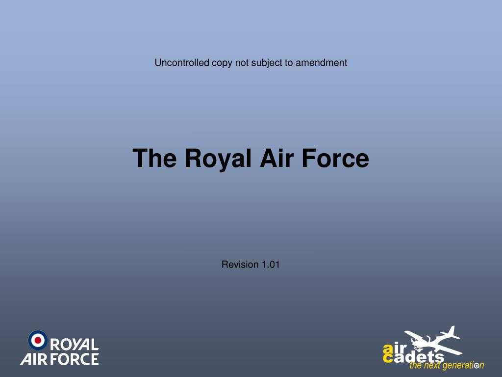 Ppt - The Royal Air Force Powerpoint Presentation, Free Inside Raf Powerpoint Template