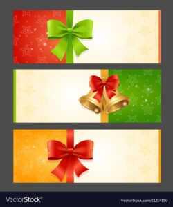 Present Card Template inside Present Card Template