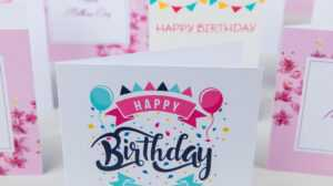 Print Greeting Cards | Custom Greeting Cards | Digital with Indesign Birthday Card Template