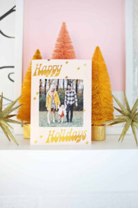 Print Your Own Holiday Cards (Free Template Included!) – A for Print Your Own Christmas Cards Templates