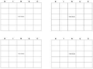 Printable Bingo Cards | Get Bingo Cards Here with Blank Bingo Card Template Microsoft Word