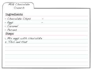 Printable Index Card Templates: 3X5 And 4X6 Blank Pdfs with Microsoft Word Note Card Template