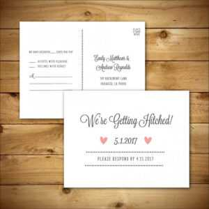 Printable Wedding Rsvp / Response Card Template – Dark Grey for Ms Word Place Card Template