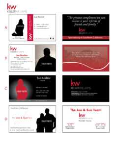 Printing Connection · Keller Williams Business Cards inside Keller Williams Business Card Templates