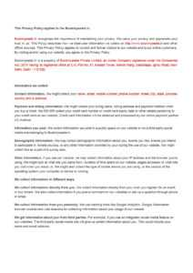 Privacy-Policy-Template inside Credit Card Privacy Policy Template