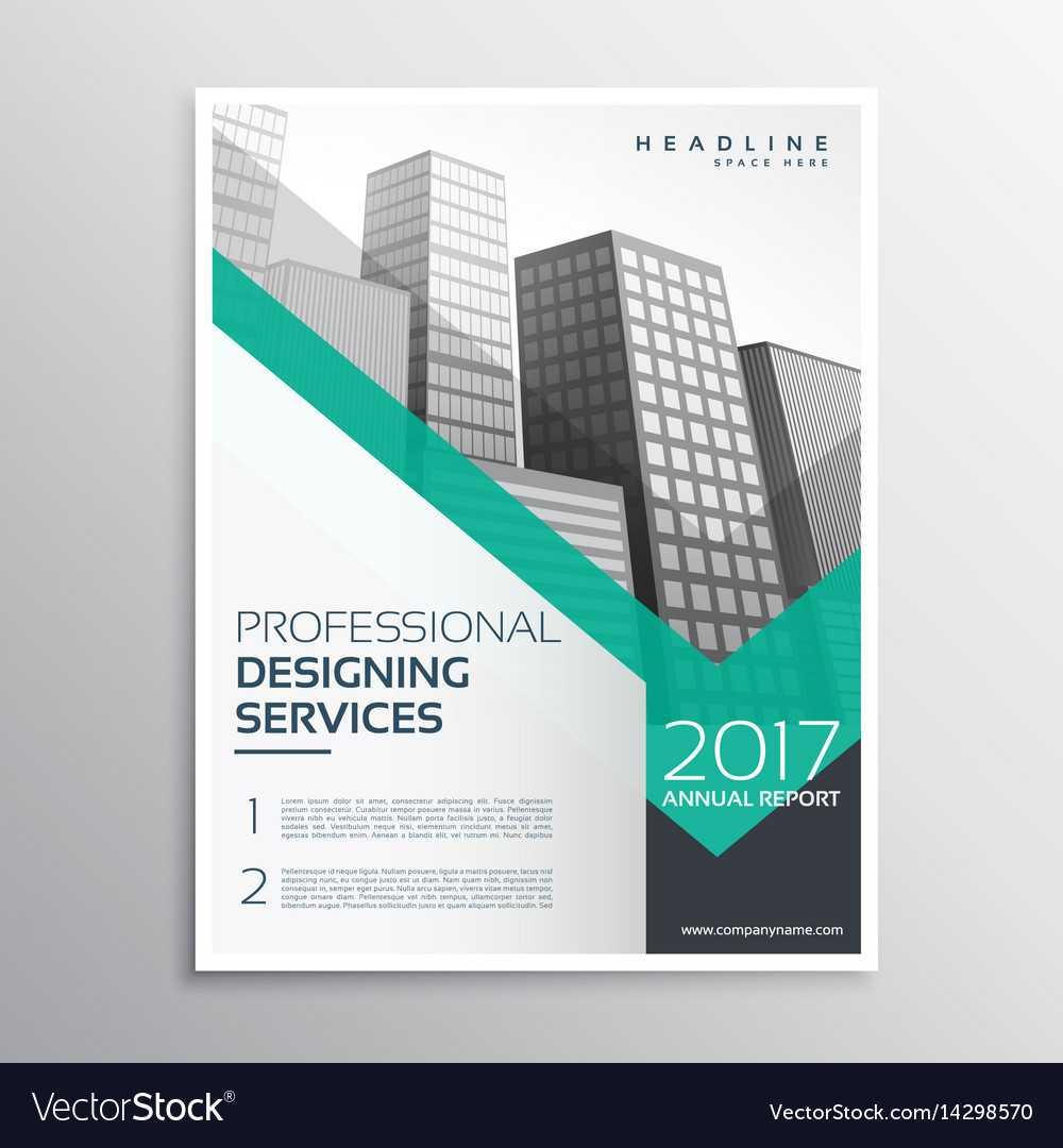 Professional Brochure Or Leaflet Template Design Intended For Professional Brochure Design Templates