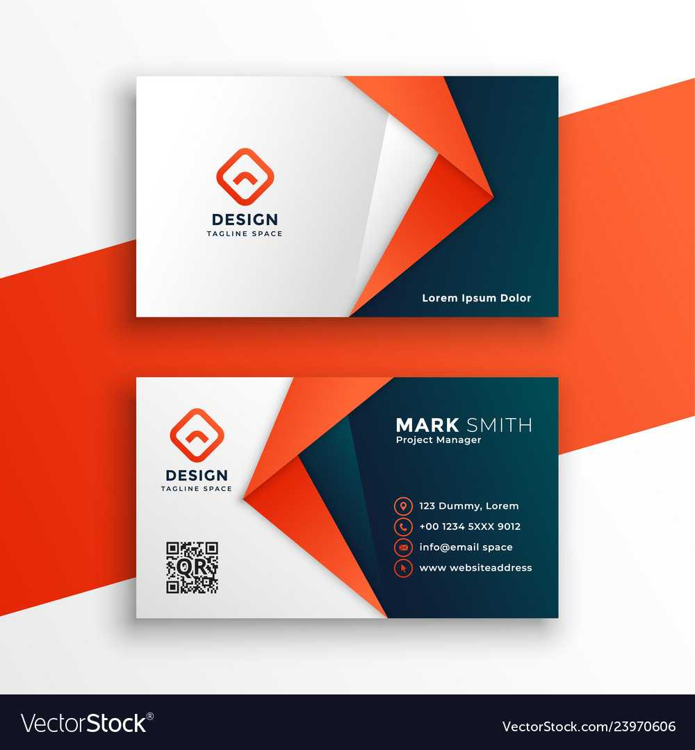 Professional Business Card Template Design With Regard To Designer Visiting Cards Templates