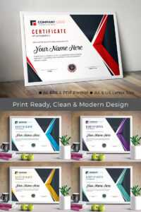 Professional Completion Award Certificate Template pertaining to Professional Award Certificate Template
